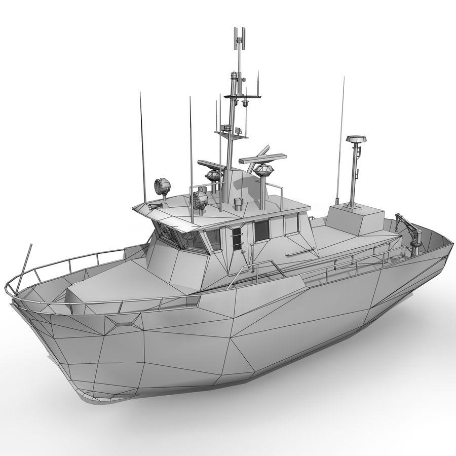 船 royalty-free 3d model - Preview no. 5