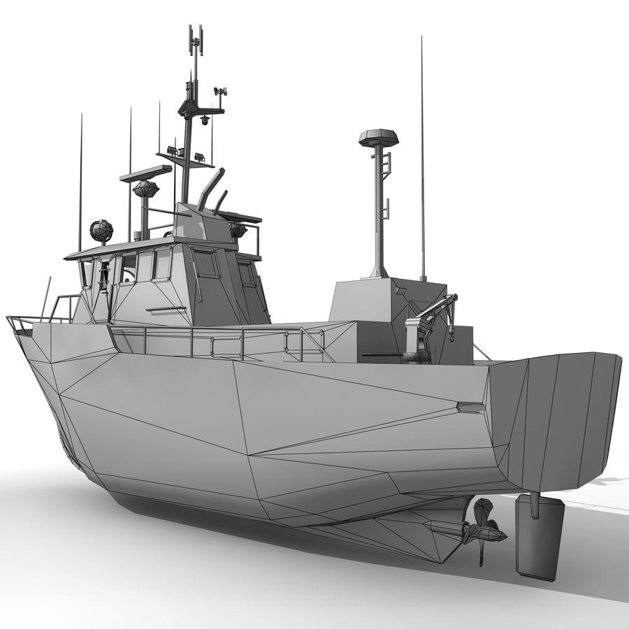 船 royalty-free 3d model - Preview no. 6