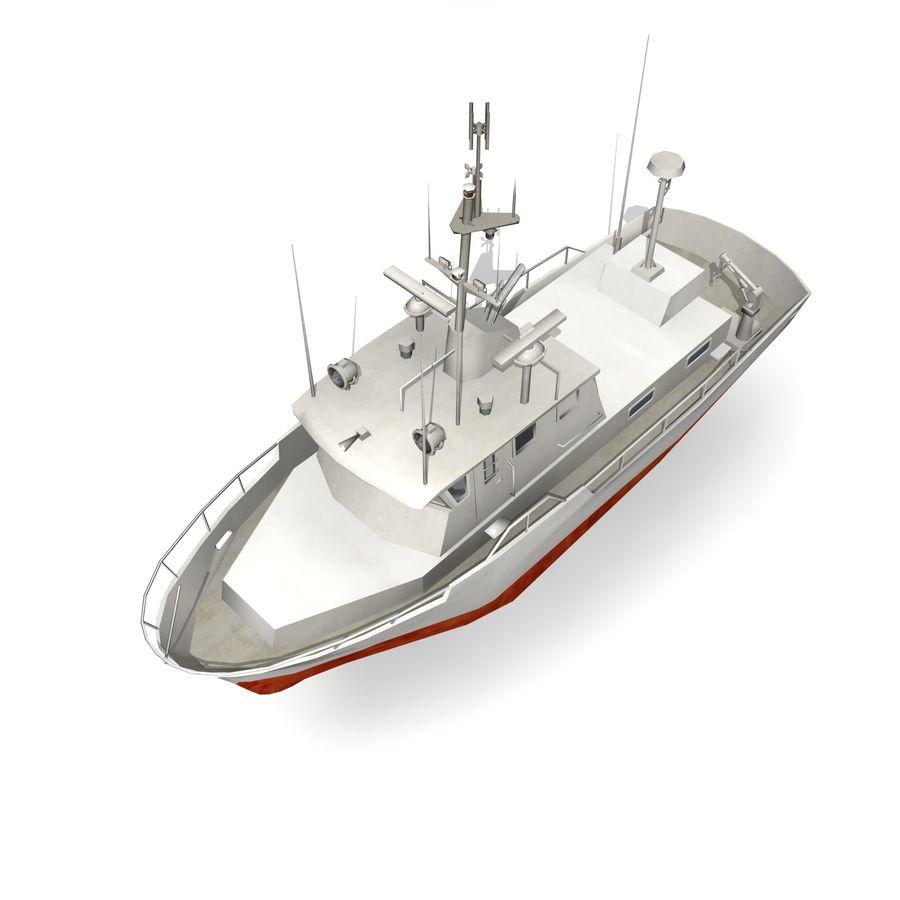 船 royalty-free 3d model - Preview no. 4
