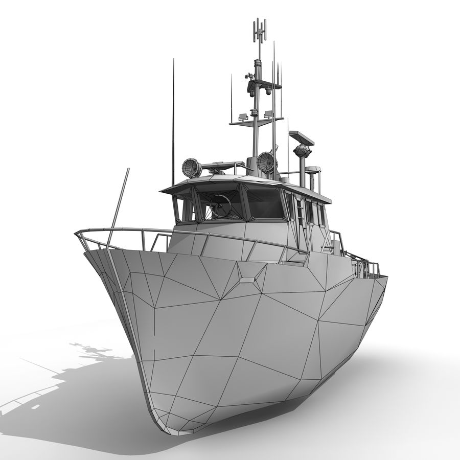 Ship royalty-free 3d model - Preview no. 8
