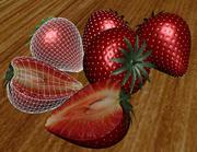 Strawberrys 3d model