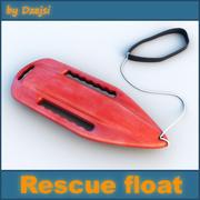 Rettungsschwimmer 3d model