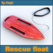 救援浮动 3d model