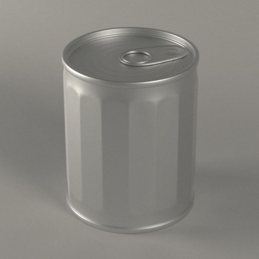 voedsel can4 royalty-free 3d model - Preview no. 2