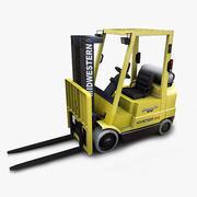 Forklift Hyster 60 3d model