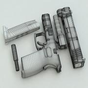 Springfield XD .45ACP Compact 3d model