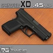 Springfield XD .45ACP Compact 3d model
