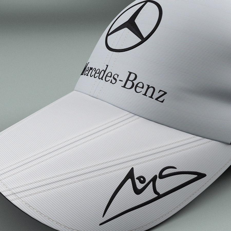 Michael Schumacher Cap royalty-free 3d model - Preview no. 6