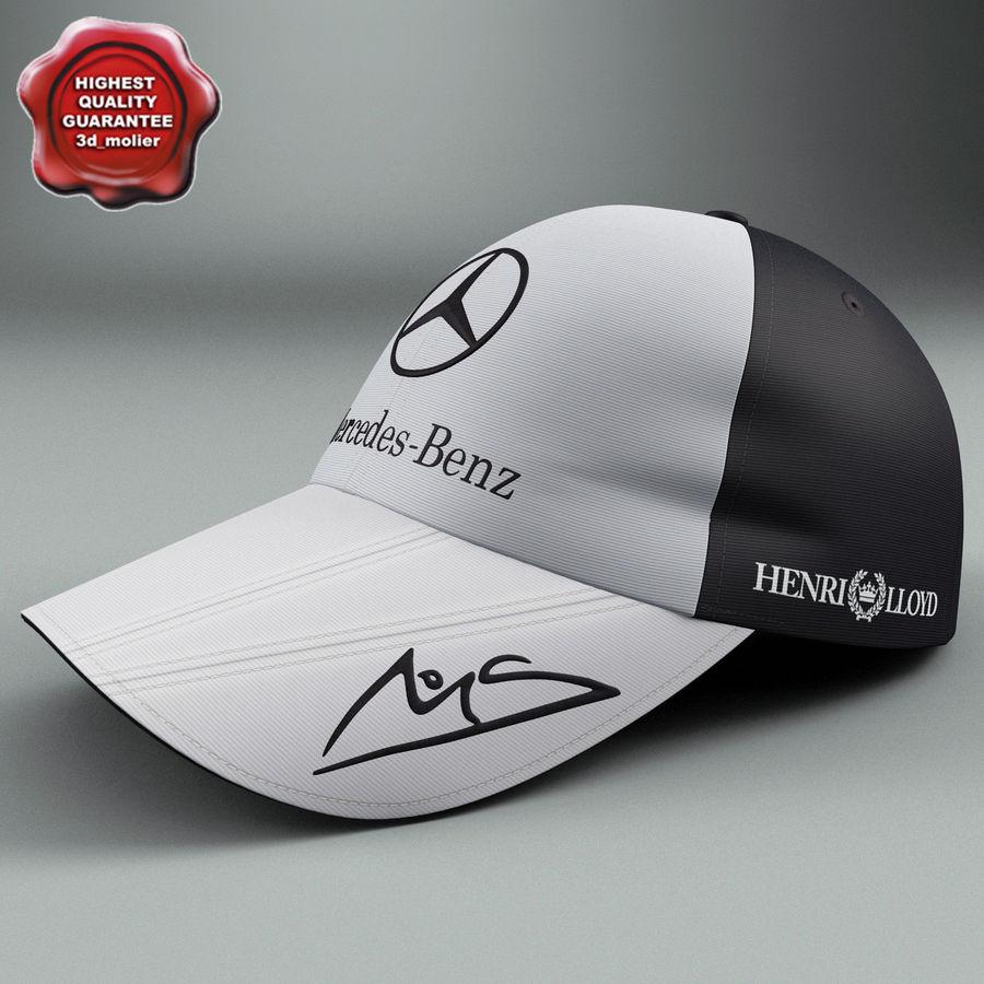 Michael Schumacher Cap royalty-free 3d model - Preview no. 1