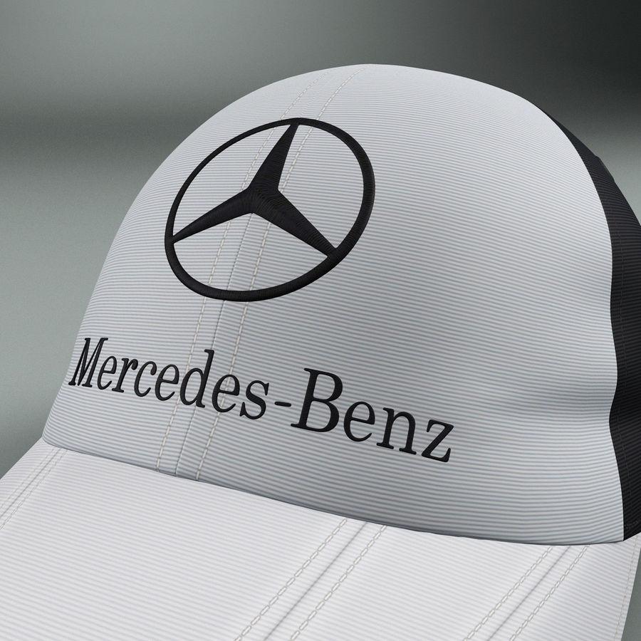 Michael Schumacher Cap royalty-free 3d model - Preview no. 7