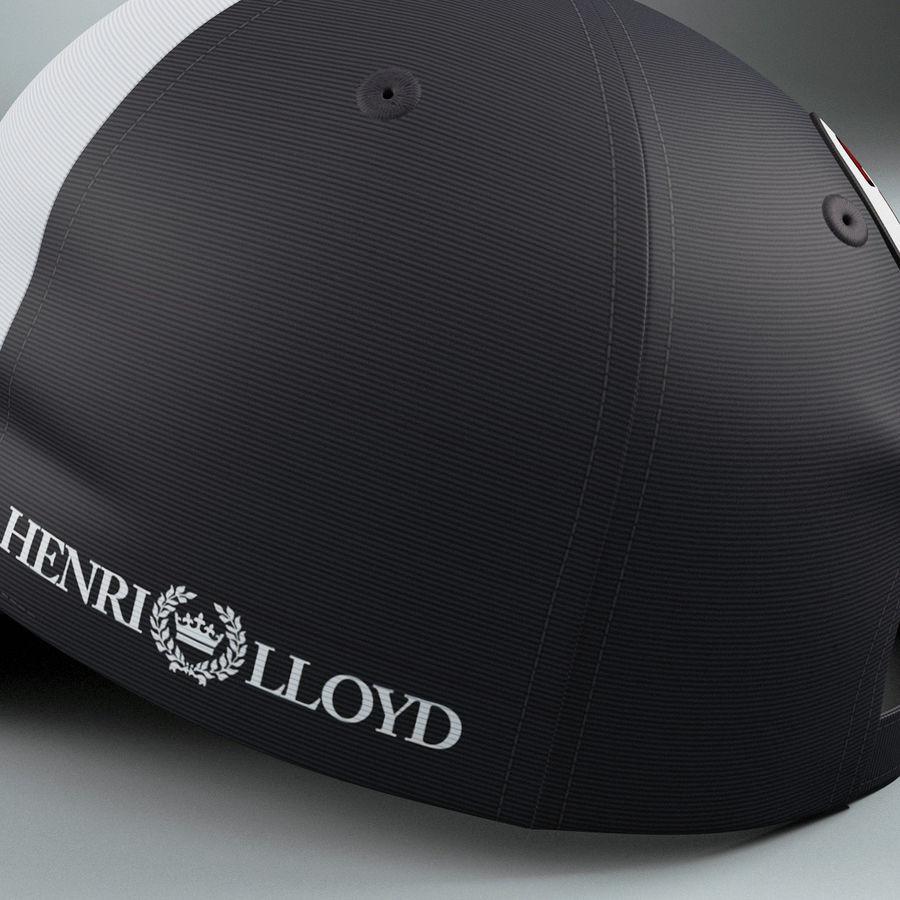Michael Schumacher Cap royalty-free 3d model - Preview no. 12