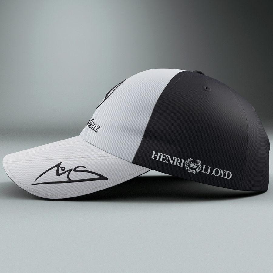 Michael Schumacher Cap royalty-free 3d model - Preview no. 2
