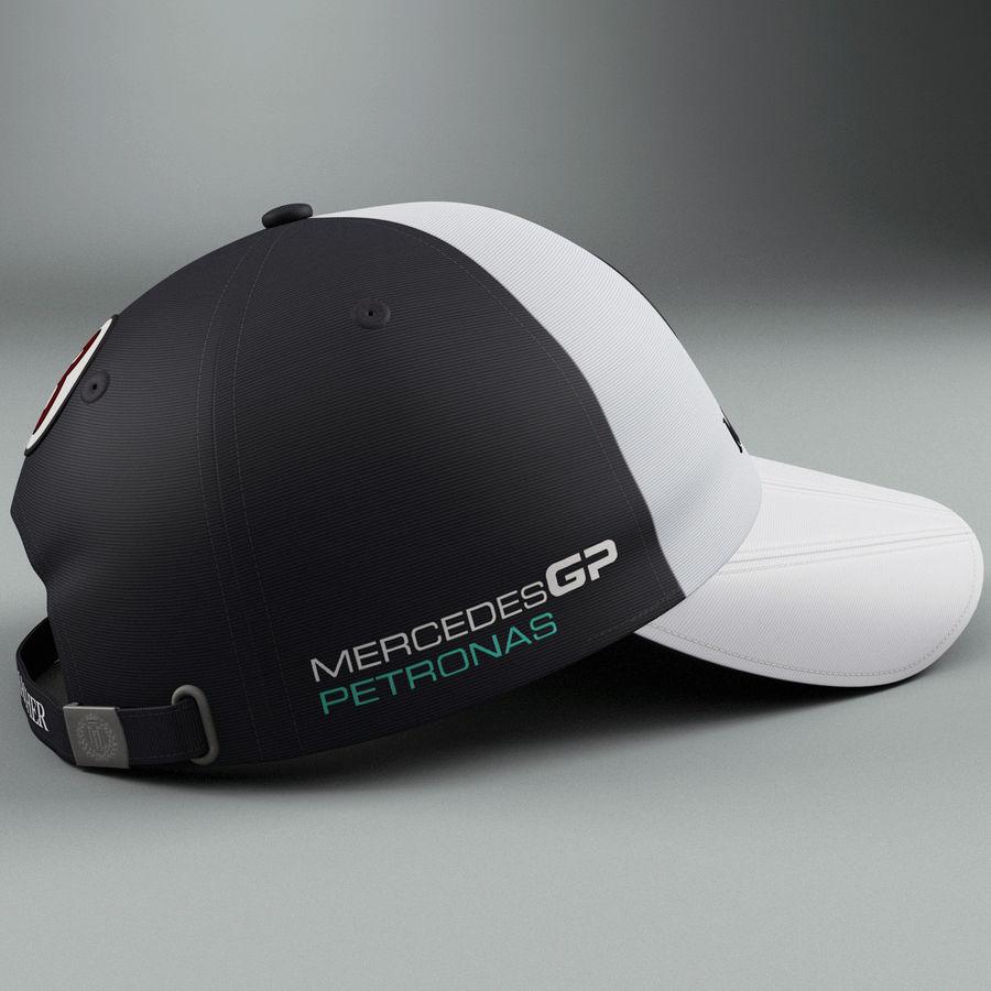 Michael Schumacher Cap royalty-free 3d model - Preview no. 4