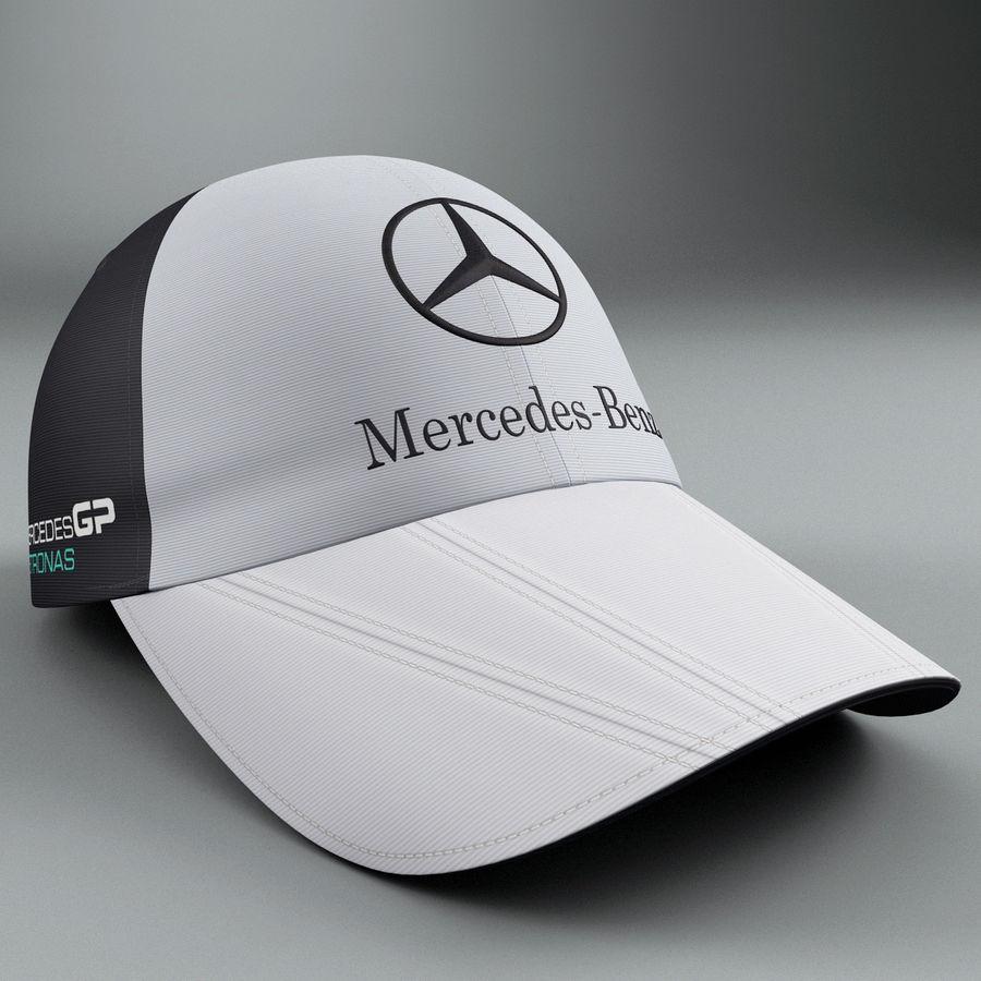 Michael Schumacher Cap royalty-free 3d model - Preview no. 5