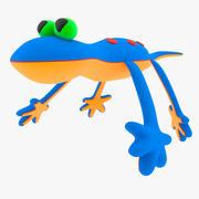 Lagarto do brinquedo do bebê 3d model