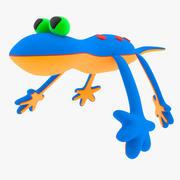 Baby Toy Lizard 3d model