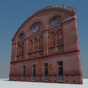 Photorealistic facade 001 3d model