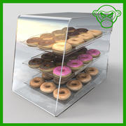 甜甜圈案小 3d model