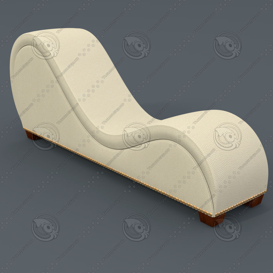 Tantra Chair - Meubels voor seks royalty-free 3d model - Preview no. 6