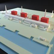 Fukushima 3d model