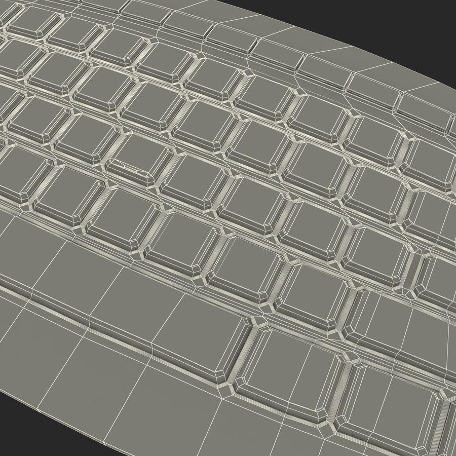 Microsoft Arc Keyboard royalty-free 3d model - Preview no. 20