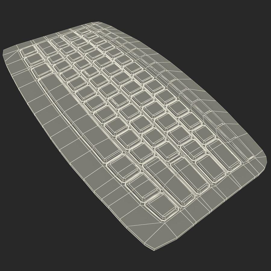 Microsoft Arc Keyboard royalty-free 3d model - Preview no. 16