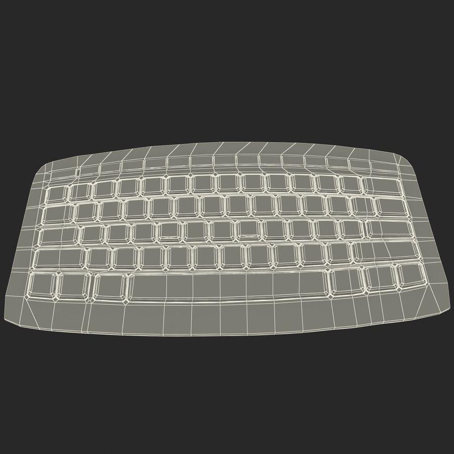 Microsoft Arc Keyboard royalty-free 3d model - Preview no. 17