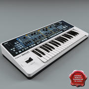 Synth Roland sh01 3d model