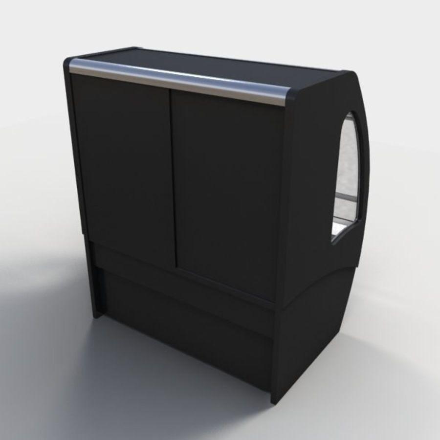 Охладитель дисплея еды royalty-free 3d model - Preview no. 4
