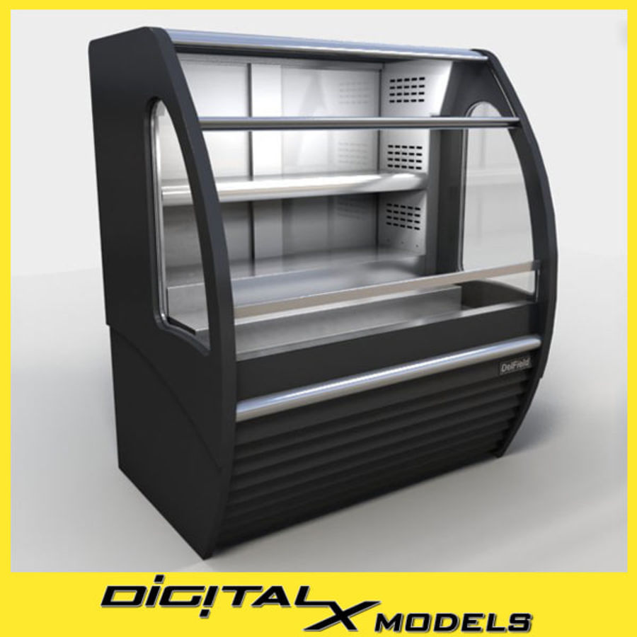Охладитель дисплея еды royalty-free 3d model - Preview no. 1