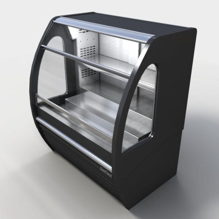 Охладитель дисплея еды royalty-free 3d model - Preview no. 3