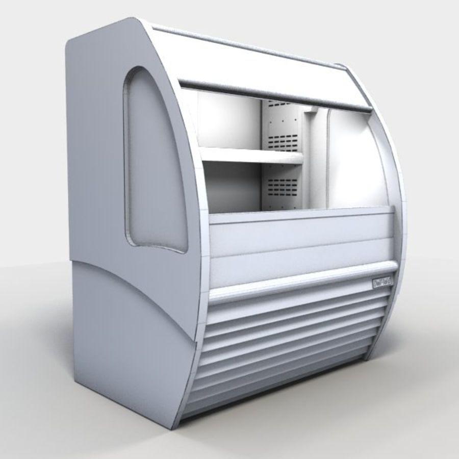 Охладитель дисплея еды royalty-free 3d model - Preview no. 5