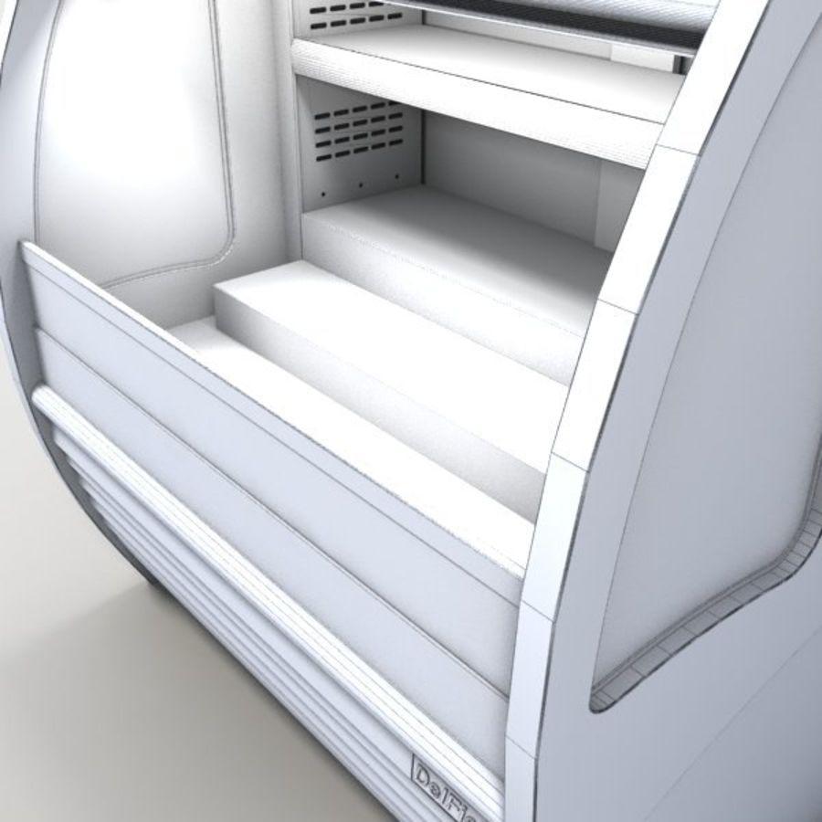Охладитель дисплея еды royalty-free 3d model - Preview no. 6