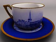 Çay bardağı 3d model