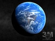 Aarde 3d model