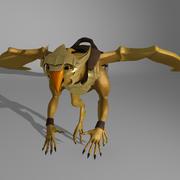 Créature dragon 3d model