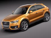 Audi Q3 2012 3d model