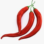 Peppar Chili 3d model