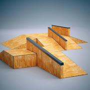 スケートランプ2 3d model