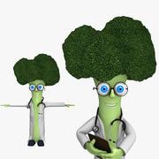 Doctor Broccoli 3d model