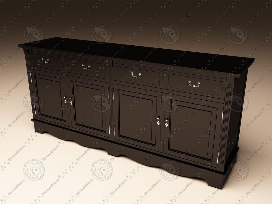 Eichholtz Cabinet Dresser royalty-free 3d model - Preview no. 1