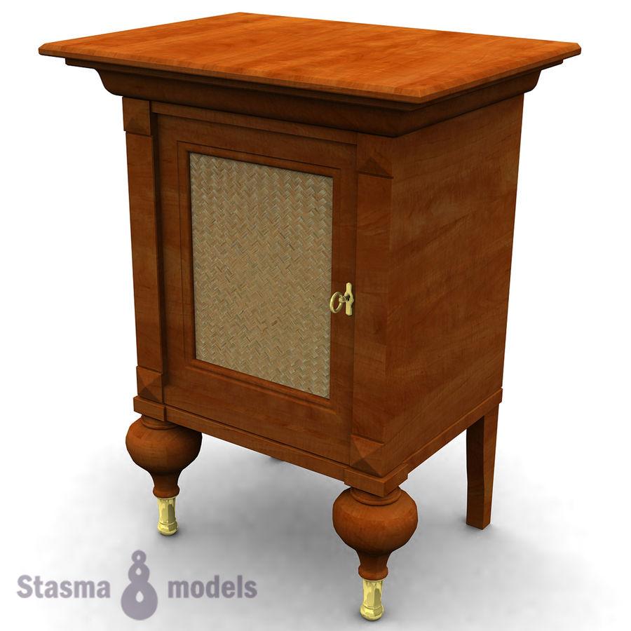 Stolik nocny royalty-free 3d model - Preview no. 1