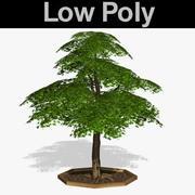 PL Baum mit niedrigem Poly-Anteil 64 3d model