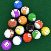 池球 3d model