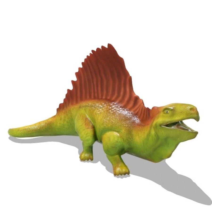 Metriacanthosauras royalty-free modelo 3d - Preview no. 2