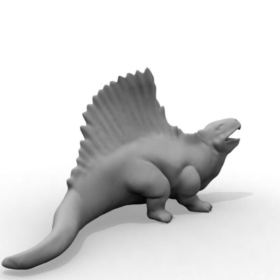 Metriacanthosauras royalty-free modelo 3d - Preview no. 6