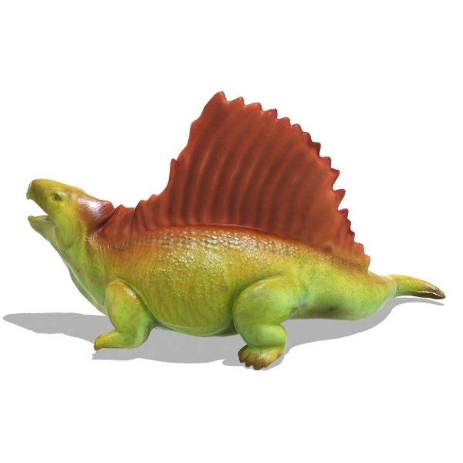 Metriacanthosauras royalty-free modelo 3d - Preview no. 3