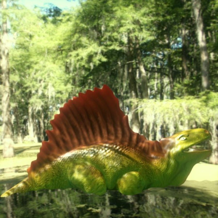 Metriacanthosauras royalty-free modelo 3d - Preview no. 1