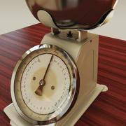 주방 저울 (vray & mr) 3d model