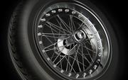 Llanta de rueda de rueda modelo 3d